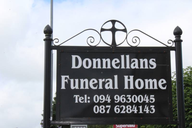 Donnellans Funeral Home Sign